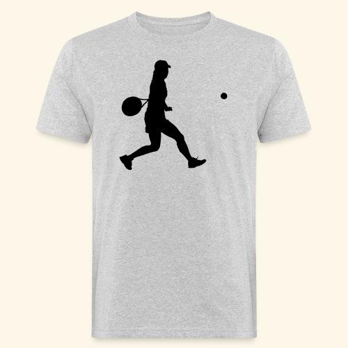 tennis woman 2 - T-shirt bio Homme