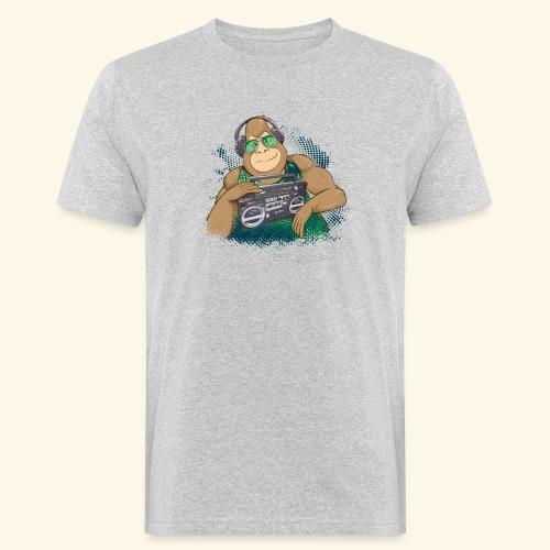 Gorilla Jungle Hiphop - Camiseta ecológica hombre
