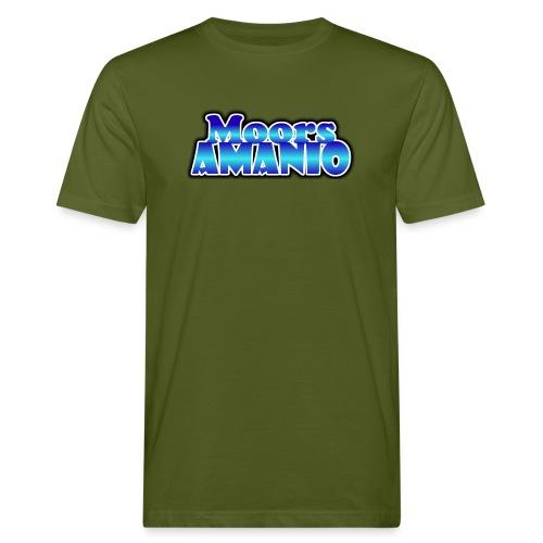 MoorsAmanioLogo - Mannen Bio-T-shirt