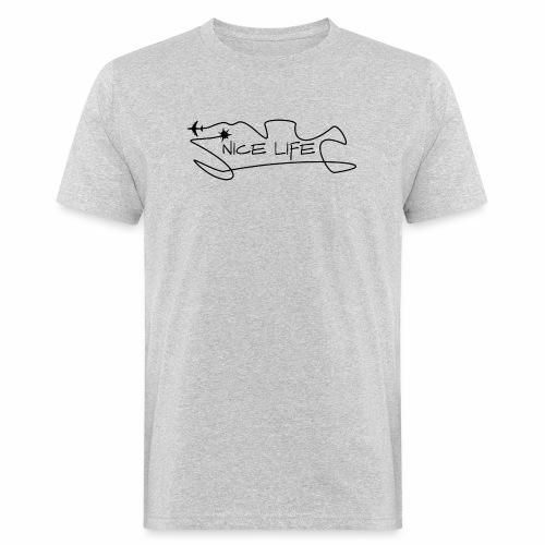 Nice Life - T-shirt ecologica da uomo