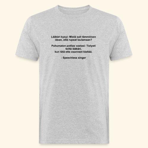 Lääkäri kysyi - Miesten luonnonmukainen t-paita