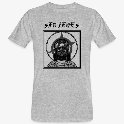 San James Logo+Txt no font - T-shirt bio Homme