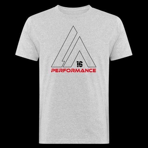 LA Performamce black/red - Männer Bio-T-Shirt