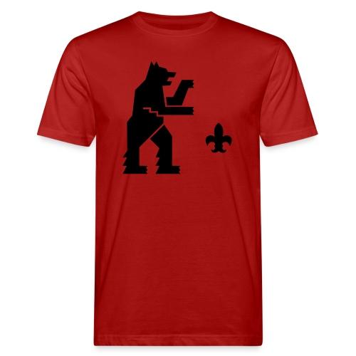 hemelogovektori - Miesten luonnonmukainen t-paita