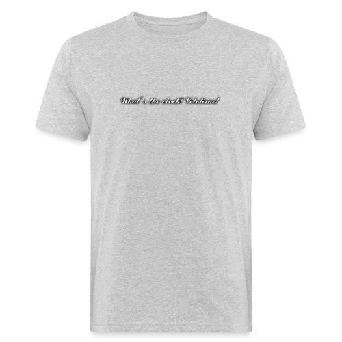 Velotime motto - Ekologisk T-shirt herr