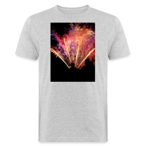 Firework - Miesten luonnonmukainen t-paita