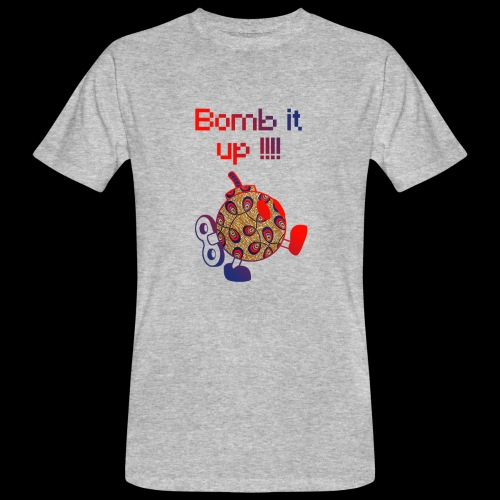 Bomb It Up : Red Power !!! - T-shirt bio Homme