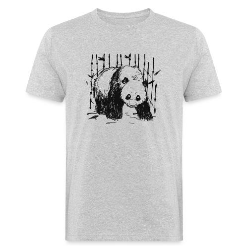 Forest walker BLACK - Men's Organic T-Shirt