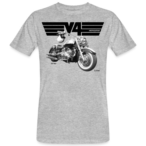 Royal Star Chopper WINGS 2 - Männer Bio-T-Shirt