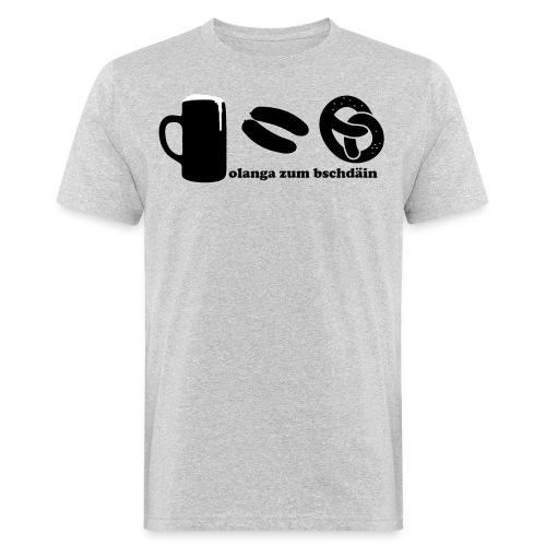 olanga zum bschdaein - Männer Bio-T-Shirt