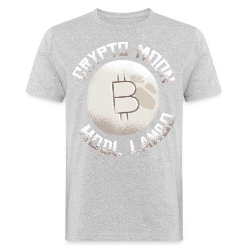 Crypto to the Moon BTC - Männer Bio-T-Shirt