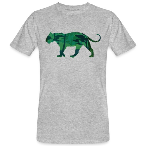 Tiger in the jungle... - T-shirt bio Homme