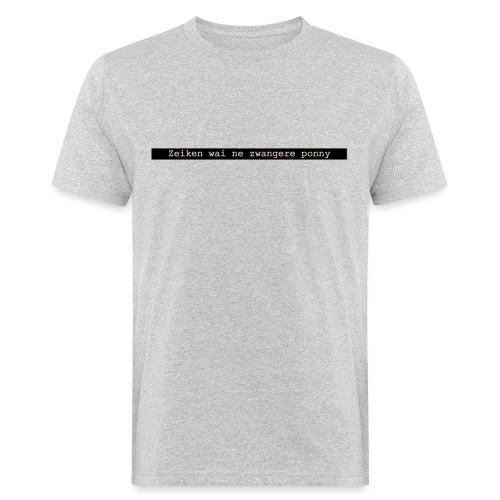 quote 1 - Mannen Bio-T-shirt