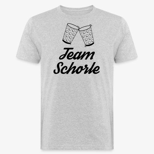 Team Schorle - Männer Bio-T-Shirt