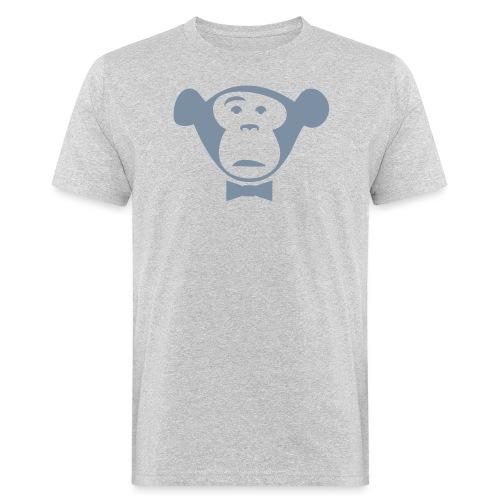 Monkey Media Official Logo - Männer Bio-T-Shirt