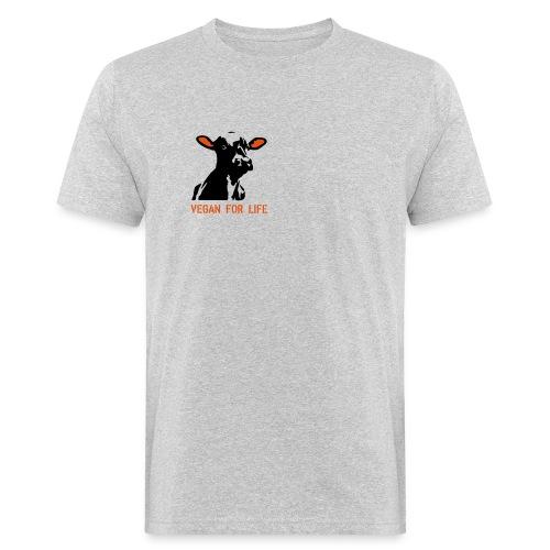 colorida vegan for life - Männer Bio-T-Shirt