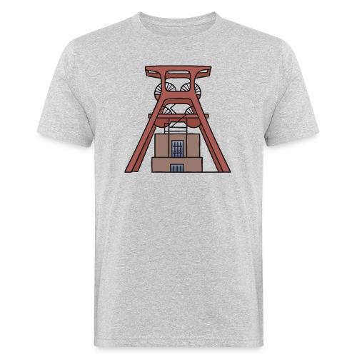 Zeche Zollverein Essen c - Männer Bio-T-Shirt
