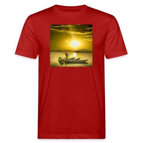 Tramonto - T-shirt ecologica da uomo