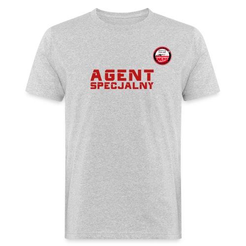 Agen Specjalny Akademii Wywiadu™ - Ekologiczna koszulka męska
