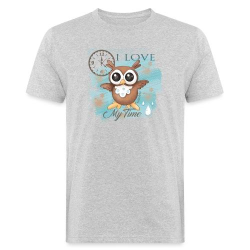 GUFO-E-TEMPO - T-shirt ecologica da uomo