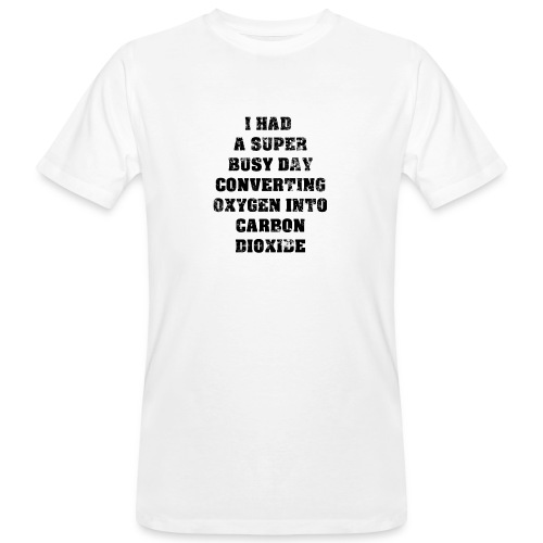 Nerd saying   Gift Idea for Nerds   black - Men's Organic T-Shirt