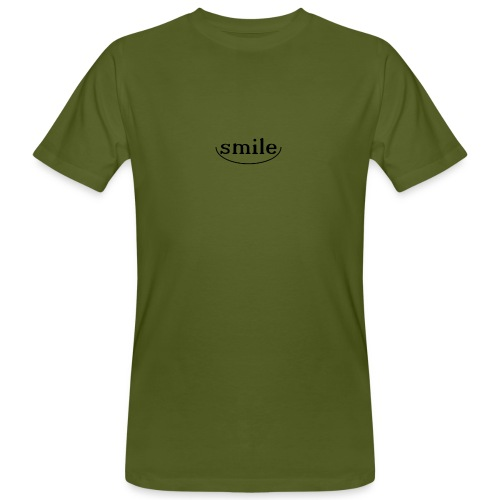 Do not you even want to smile? - Men's Organic T-Shirt