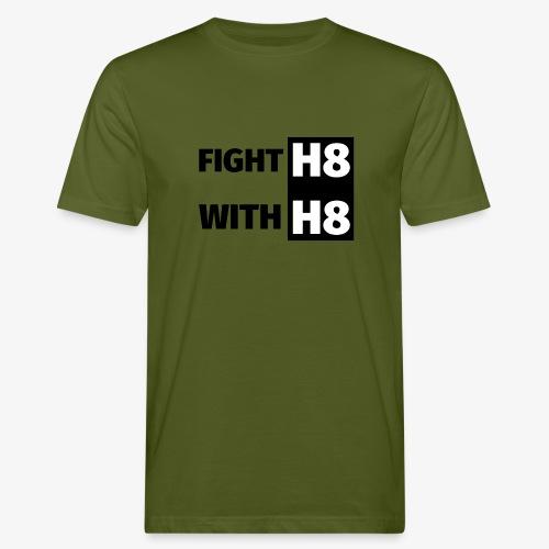 FIGHTH8 dark - Men's Organic T-Shirt