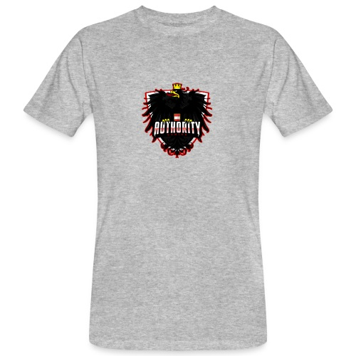 AUThority Gaming red - Männer Bio-T-Shirt