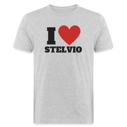 Ich liebe Stelvio - Männer Bio-T-Shirt