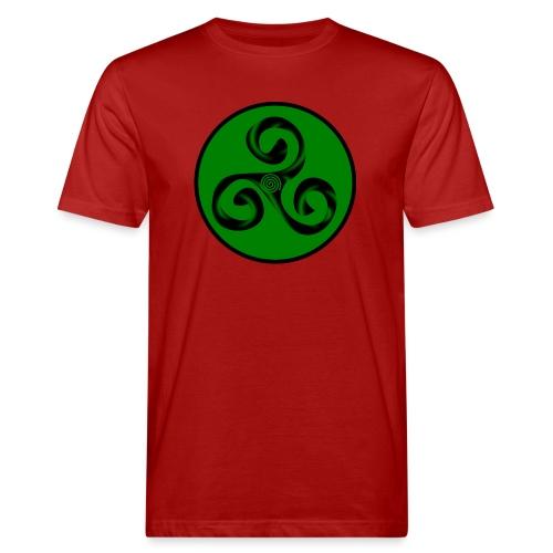 Triskel and Spiral - Camiseta ecológica hombre