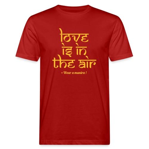 LOVE IS IN THE AIR - T-shirt ecologica da uomo