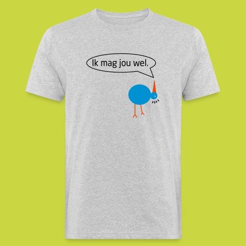 birdie one ikmagjouwel - Mannen Bio-T-shirt