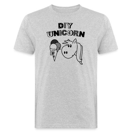 DIY Unicorn Einhorn - Männer Bio-T-Shirt