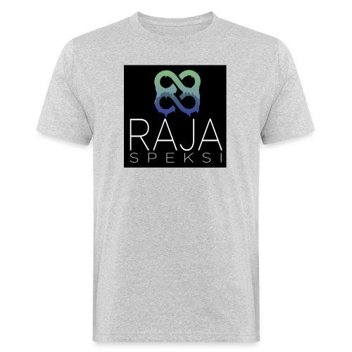 RajaSpeksin logo - Miesten luonnonmukainen t-paita