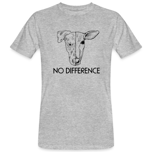 No Difference - Männer Bio-T-Shirt