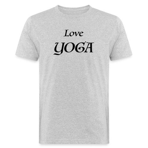 Love Yoga - T-shirt bio Homme