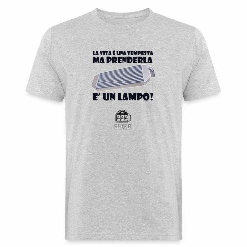 INTERCOOLER (nero) - T-shirt ecologica da uomo