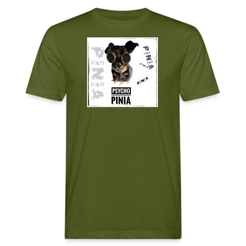 Psycho Pinia - Männer Bio-T-Shirt
