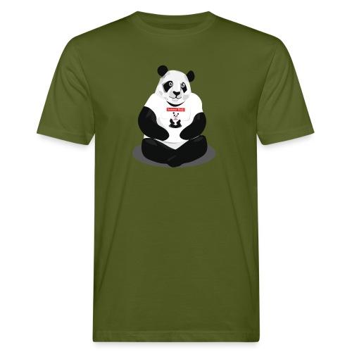 panda hd - T-shirt bio Homme