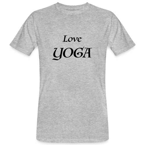 Love Yoga - T-shirt bio Homme
