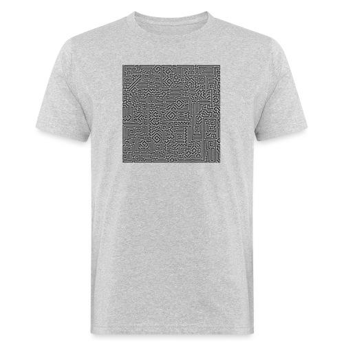 Maze - Männer Bio-T-Shirt