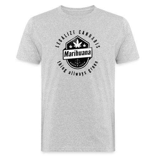 Legalize Cannabis Smoke Weed VINTAGE - Men's Organic T-Shirt