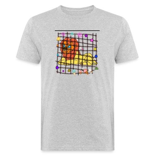 Lion dans son cage - T-shirt bio Homme