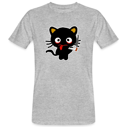 Pothead Cat Cannabis Smoking Weed, legalize it - Men's Organic T-Shirt