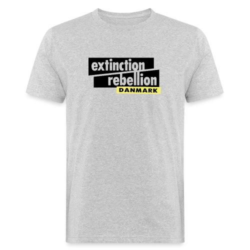 Extinction Rebellion Danmark SORT logo - Organic mænd