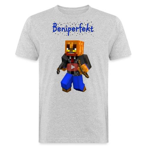 Beniperfekt T-Shirt für Männer - Männer Bio-T-Shirt