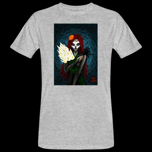 Death and lillies - Men's Organic T-Shirt