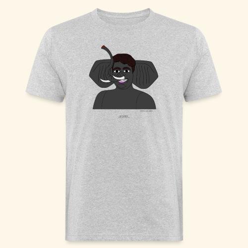 Andrea elefante - T-shirt ecologica da uomo