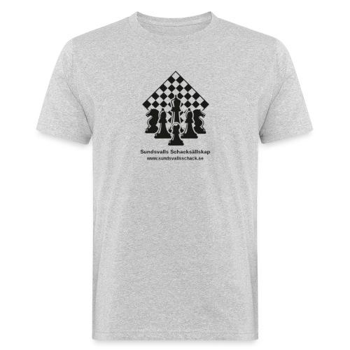 Sundsvalls Schacksällskap - Ekologisk T-shirt herr