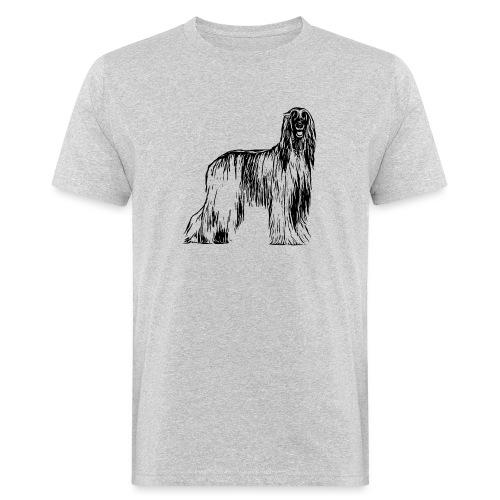 Afghane Afghanischer Windhund Design Geschenkidee - Männer Bio-T-Shirt